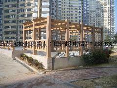 供应青岛城阳木塑连廊哪家做的最好