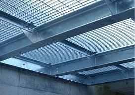 钢格板吊顶图片/钢格板吊顶样板图 (4)
