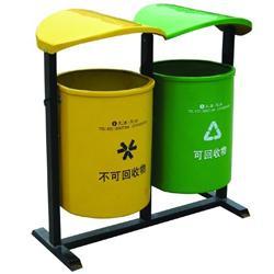供应用于园林环卫的户外玻璃钢垃圾箱