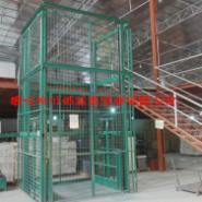 导轨式电动液压货运电梯厂价图片