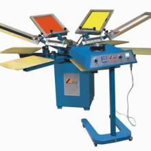供应t恤无纺布印刷机双轮转PVC印花机图片