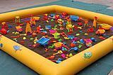 供应儿童玩沙子玩具池子广场充气沙池