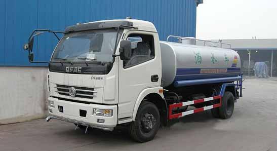 陕西5吨8吨10吨洒水车道路喷洒车喷雾车
