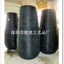 供应深圳玻璃钢大花器酒店装饰花瓶厂家直营价格优惠欢迎定制