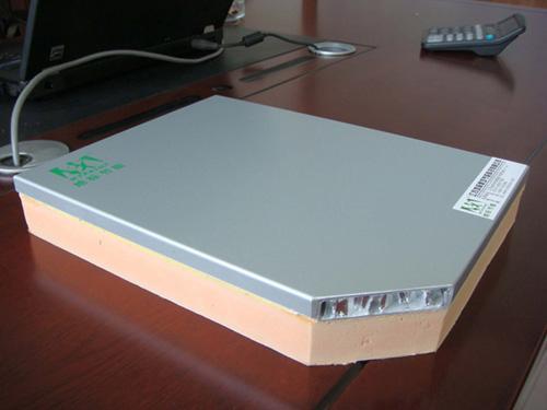 供应酚醛保温装饰一体化板蜂窝板图片