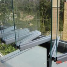 深圳美之家无框阳台玻璃门窗,折叠玻璃窗设计生产销售安装中心 无框阳台折叠玻璃窗批发