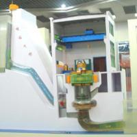 河床式水电站模型
