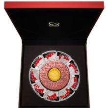 供应中国共产党建党90周年异形金银章