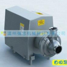 自吸泵CIP回程泵-浙江卫生自吸泵-高品质无菌型自吸泵厂家浙江强批发