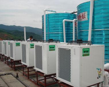 空气能热水工程图片/空气能热水工程样板图 (1)