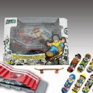 手指滑板场地台整套玩具图片