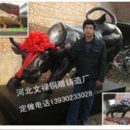 铜雕华尔街牛厂家/铜雕牛厂家图片