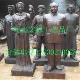 供应人物雕塑铜雕,铜雕孔子,铸铜毛泽东铜像