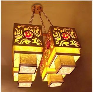 供应酒店工程灯中式客厅卧室书房吸吊灯