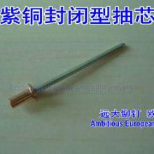 供应铜封闭型抽芯铆钉