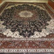 手工羊毛地毯真丝地毯清洗公司上海图片