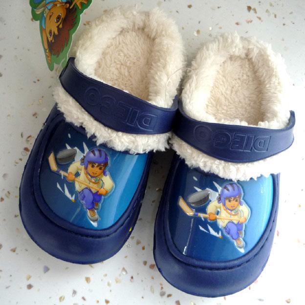 卡通 拖鞋/供应卡通儿童棉拖鞋批发图片