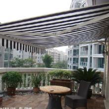 北京遮阳篷布批发,手动自动遮阳篷 防晒挡雨或装饰作用遮阳篷布顶篷材料 顶篷材料遮阳篷布批发图片