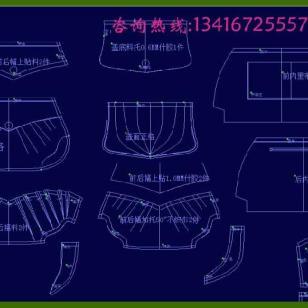 广州箱包CAD打版系统图片