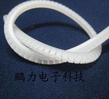 自由活用护线齿套、机箱护线齿.齿形护套.自由绝缘保护套.线卡(U形)批发