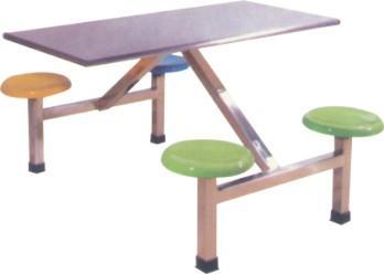 供应湛江员工餐桌玻璃钢餐桌湛江快餐桌