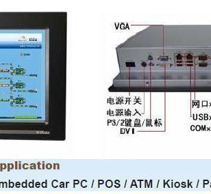 15寸工业平板电脑带2PCI及酷睿CPU图片