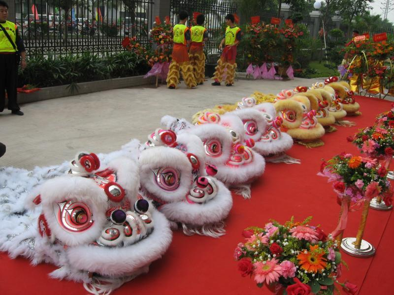 漳州 厦门/漳州庙会舞龙舞狮图片