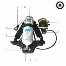 供应正压式空气呼吸器碳纤维气瓶呼吸器批发