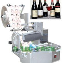 半自动红酒贴标机 青岛葡萄酒贴标机 双面