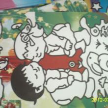 供应彩砂画儿童沙画套装彩底沙画