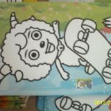 供应彩砂画儿童沙画套装沙画独立包装