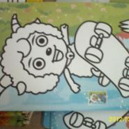 彩砂画儿童沙画套装沙画独立包装图片