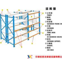 供应仓储货架结构图