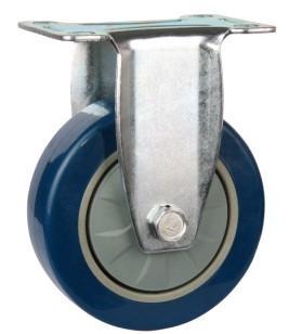 大量生产4寸定向轮PU工业脚轮图片/大量生产4寸定向轮PU工业脚轮样板图 (1)