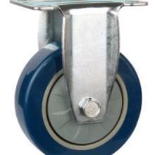 大量生产4寸定向轮PU工业脚轮价格表