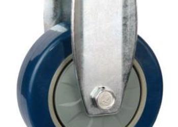 大量生产4寸定向轮PU工业脚轮图片