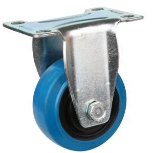 大量生产4寸定向轮PU工业脚轮图片/大量生产4寸定向轮PU工业脚轮样板图 (2)