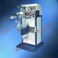 供应圆面丝印机:水杯/针筒/刻度剂丝印机,圆面丝印机S-300S