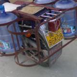 供应摩托车后货架加工