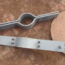 供应D2双孔短管夹|佰誉管道弹簧支吊架连接件批发
