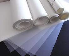 供应乳白色PVC圆形胶片白色PET垫,单面胶圆形乳白色PET绝缘