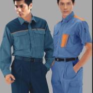 上海工装厂家2012新款时尚工作服批图片