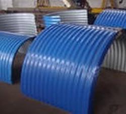链板输送机圆弧防雨罩