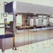 卧式利0乐砖砖型灌装机牛奶图片