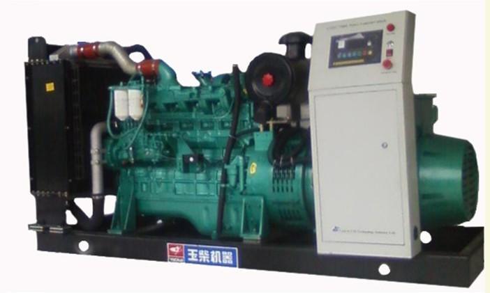 供应玉柴250KW自动化柴油发电机组,玉柴发电机组价格