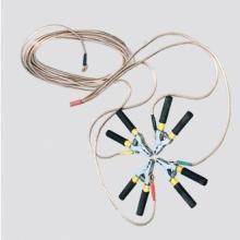 个人保安线 0.4kv380v个人保安线 10kv电工个人保安线 绝缘钳图片