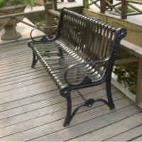 成都钢木公园椅成都塑木公园椅厂家