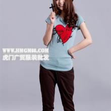 圆领印花长袖女式T恤男式T恤休闲韩版长衫男女情侣套装批发