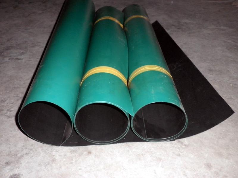 供应黑绿双色土工膜