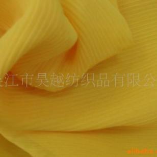 顺纡绉印花植绒图片